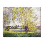 Tablou Arta Clasica Pictor Claude Monet The Willows 1880 80 x 100 cm