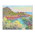 Tablou Arta Clasica Pictor Claude Monet Landscape near Montecarlo 1883 80 x 100 cm