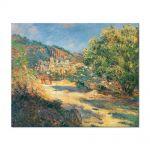 Tablou Arta Clasica Pictor Claude Monet The Road to Monte Carlo 1883 80 x 100 cm