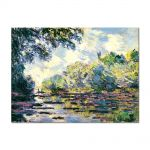 Tablou Arta Clasica Pictor Claude Monet Section of the Seine, near Giverny 1885 80 x 110 cm