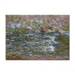 Tablou Arta Clasica Pictor Claude Monet Torrent of the Petite Creuse at Fresselines 1889 80 x 110 cm