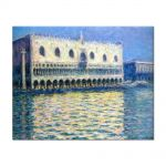 Tablou Arta Clasica Pictor Claude Monet The Palazzo Ducale 1908 80 x 100 cm