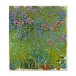 Tablou Arta Clasica Pictor Claude Monet Agapanthus Flowers 1917 80 x 90 cm