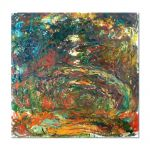 Tablou Arta Clasica Pictor Claude Monet Path under the Rose Arches, Giverny 1922 80 x 80 cm