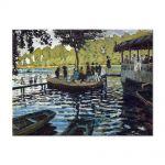 Tablou Arta Clasica Pictor Claude Monet The Grenouillere 1869 80 x 110 cm