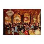 Tablou Arta Clasica Pictor Edgar Degas Dinner at the Ball 1879 80 x 120 cm