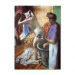 Tablou Arta Clasica Pictor Edgar Degas The Cup of Tea. Breakfast after Bathing 1883 80 x 100 cm