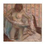 Tablou Arta Clasica Pictor Edgar Degas Toilet of a Woman 1884 80 x 80 cm