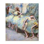 Tablou Arta Clasica Pictor Edgar Degas Ballet Dancers in the Wings 1900 80 x 90 cm