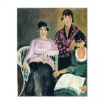 Tablou Arta Clasica Pictor Henri Matisse Three Sisters 1917 80 x 100 cm