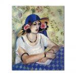 Tablou Arta Clasica Pictor Henri Matisse The Woven Italian Straw Hat 1919 80 x 90 cm