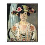 Tablou Arta Clasica Pictor Henri Matisse Woman in a Hat 1920 80 x 100 cm
