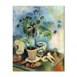 Tablou Arta Clasica Pictor Henri Matisse The Geranium 1920 80 x 100 cm