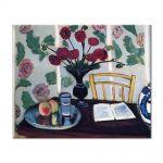 Tablou Arta Clasica Pictor Henri Matisse Bouquet of Dahlias and White Book 1923 80 x 100 cm