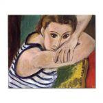 Tablou Arta Clasica Pictor Henri Matisse Blue Eyes 1934 80 x 100 cm