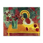 Tablou Arta Clasica Pictor Henri Matisse Pineapple and Anemones 1940 80 x 100 cm
