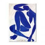 Tablou Arta Clasica Pictor Henri Matisse Blue Nude 1953 80 x 100 cm