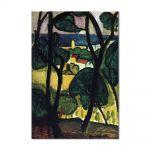 Tablou Arta Clasica Pictor Henri Matisse View of Collioure 1907 80 x 100 cm