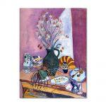Tablou Arta Clasica Pictor Henri Matisse Still Life with Flowers 1907 80 x 100 cm