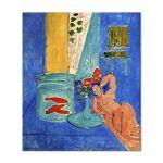 Tablou Arta Clasica Pictor Henri Matisse Red Fish and a Sculpture 1911 80 x 90 cm