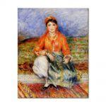 Tablou Arta Clasica Pictor Pierre-Auguste Renoir Algerian girl 1881 80 x 100 cm