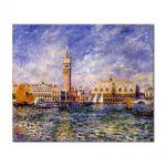 Tablou Arta Clasica Pictor Pierre-Auguste Renoir The Doges Palace 1881 80 x 100 cm