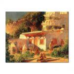 Tablou Arta Clasica Pictor Pierre-Auguste Renoir Mosque in Algiers 1882 80 x 100 cm