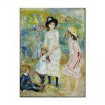 Tablou Arta Clasica Pictor Pierre-Auguste Renoir Children on the Seashore, Guernsey 1883 80 x 100 cm