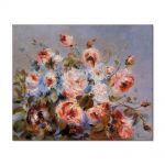 Tablou Arta Clasica Pictor Pierre-Auguste Renoir Roses from Wargemont 1885 80 x 100 cm