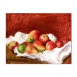 Tablou Arta Clasica Pictor Pierre-Auguste Renoir Pears and apples 1890 80 x 100 cm