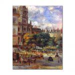Tablou Arta Clasica Pictor Pierre-Auguste Renoir Church of the Holy Trinity in Paris 1893 80 x 100 cm