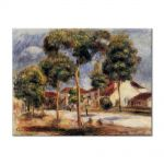 Tablou Arta Clasica Pictor Pierre-Auguste Renoir The sunny street 1900 80 x 100 cm