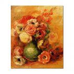 Tablou Arta Clasica Pictor Pierre-Auguste Renoir Flowers 1901 80 x 90 cm
