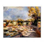 Tablou Arta Clasica Pictor Pierre-Auguste Renoir Cagnes landscape 1910 80 x 100 cm