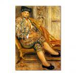 Tablou Arta Clasica Pictor Pierre-Auguste Renoir Ambroise Vollard portrait 1916 80 x 100 cm