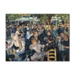 Tablou Arta Clasica Pictor Pierre-Auguste Renoir Ball at the Moulin de la Galette 1876 80 x 110 cm