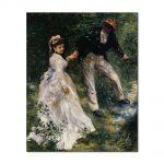 Tablou Arta Clasica Pictor Pierre-Auguste Renoir The promenade 1870 80 x 100 cm