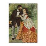 Tablou Arta Clasica Pictor Pierre-Auguste Renoir Portrait of the couple Sisley 1868 80 x 100 cm