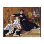 Tablou Arta Clasica Pictor Pierre-Auguste Renoir Madame Georges Charpentier and her children 1878 80 x 100 cm