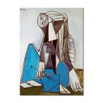 Tablou Arta Clasica Pictor Pablo Picasso Portrait of Sylvette David 1954 80 x 100 cm