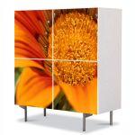 Comoda cu 4 Usi Art Work Flori Eleganta, 84 x 84 cm