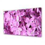 Tablou VarioView MoonLight Fosforescent Luminos in intuneric Flori Liliac violet