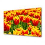 Tablou Canvas Flori Flori cu colorit special