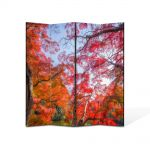 Paravan de Camera ArtDeco din 4 Panouri Peisaj Suprarealism 105 x 150 cm