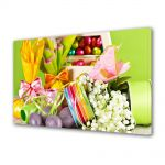 Tablou Canvas Sarbatori Paste Decoratiuni multicolore de Paste