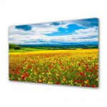 Tablou Canvas Peisaj De la pamant la cer