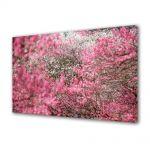 Tablou Canvas Luminos in intuneric VarioView LED Peisaj Nuante de roz