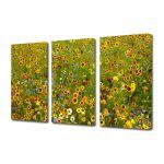 Set Tablouri Multicanvas 3 Piese Peisaj Stropi de culoare
