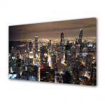 Tablou Canvas Zgarie norii din Chicago