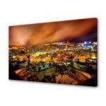 Tablou Canvas Noaptea peste oras